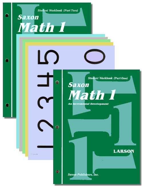 Saxon Math 1: Student Workbooks only