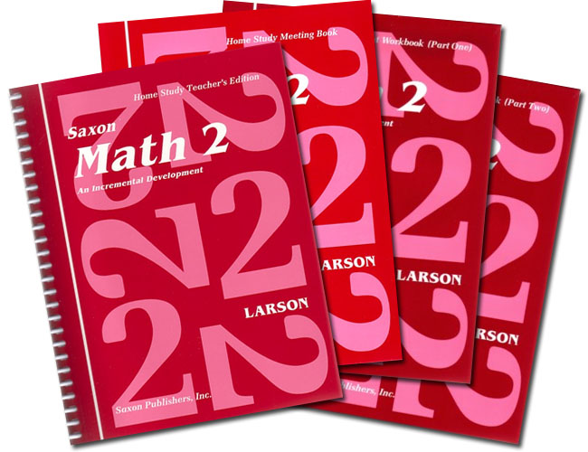 Saxon Math 2: Homeschool Kit