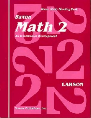 Saxon Math 2: Meeting Book