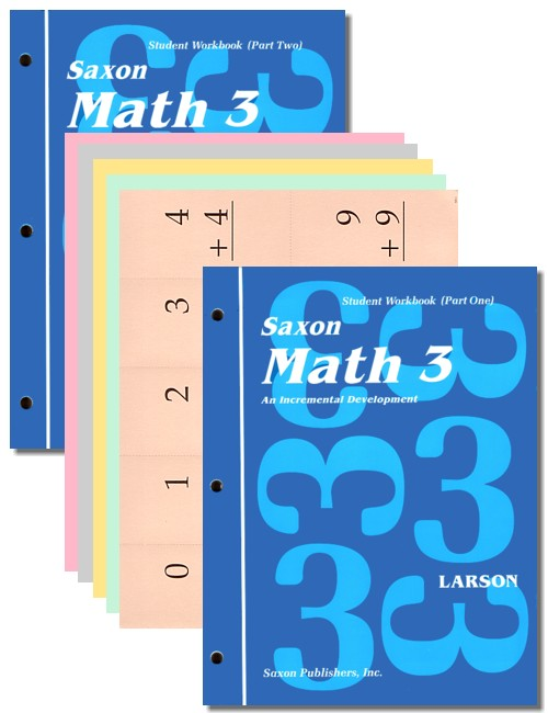 Saxon Math 3: Student Workbooks only