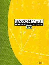 Saxon Math 65: Student Book only; 3rd edition