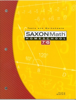 Saxon Math 76: Tests & Worksheets; 4th edition