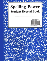 Spelling Power Record Book BLUE