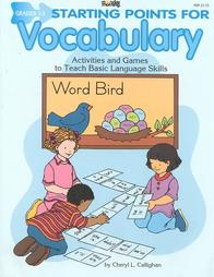 Starting Points for Vocabulary