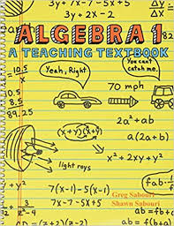 algebra 1 student bk only -used-teaching textbook