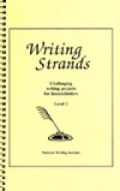 Writing Strands Level 1 book and cassette