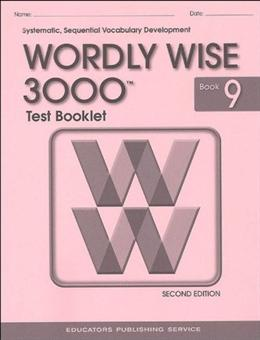 Wordly Wise 3000 2nd edition Book 9 Tests