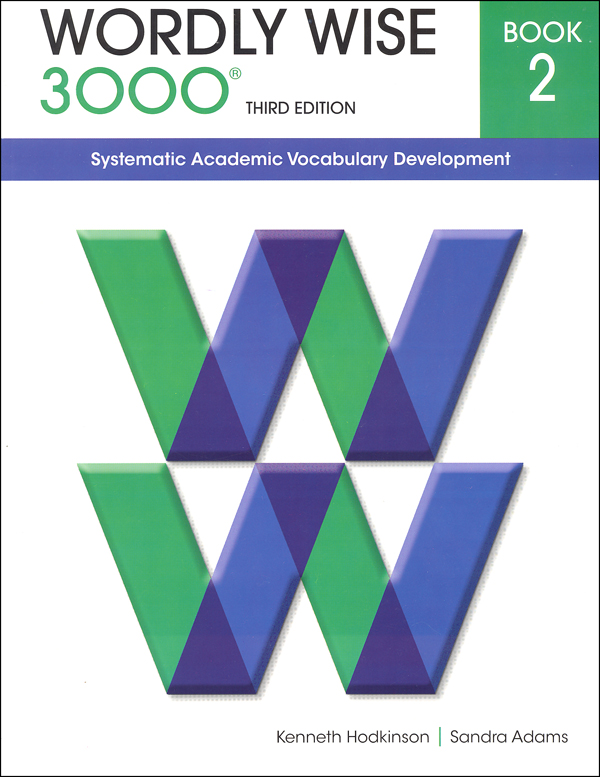 Wordly Wise 3000 3rd edition Book 2