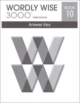 Wordly Wise 3000 3rd edition Book 10 Answer Key