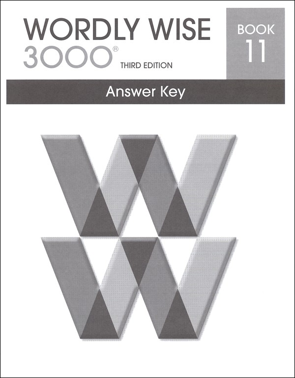 Wordly Wise 3000 3rd edition Book 11 Answer Key